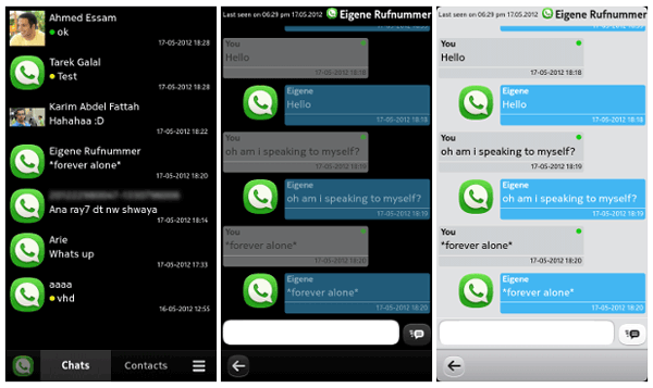 WhatsApp for Nokia N9