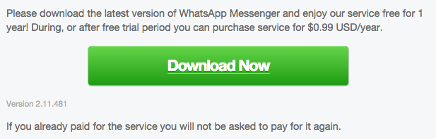 WhatsApp for Android 2.11.481