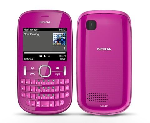 WhatsApp for Nokia Asha 201