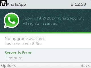 WhatsApp for Nokia C3