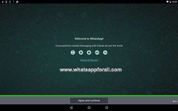 Download WhatsApp for tablets Android