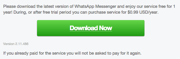 Download WhatsApp 2.11.486 for Android