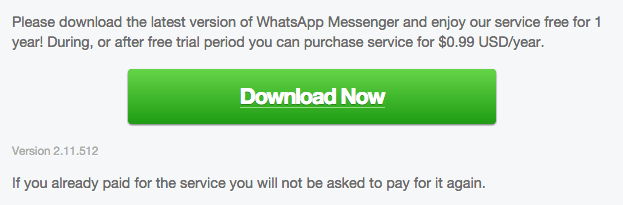 Download WhatsApp 2.11.512 Android