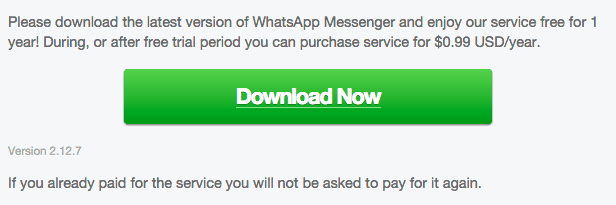 WhatsApp 2.12.7 Android