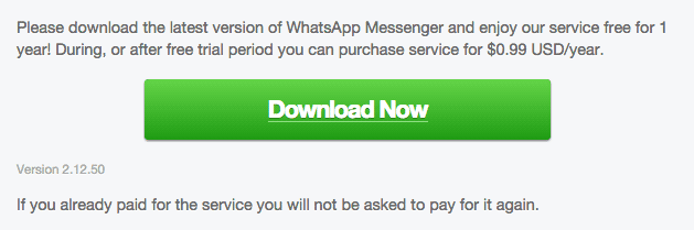 WhatsApp for Android 2.12.50