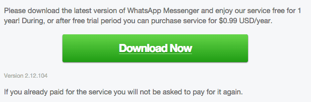 WhatsApp Android 2.12.104