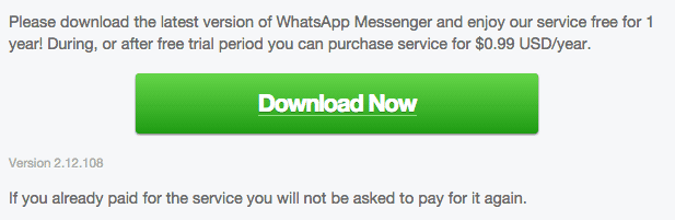 WhatsApp Android 2.12.108