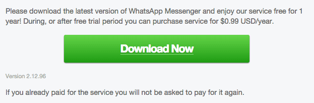 WhatsApp Android 2.12.96