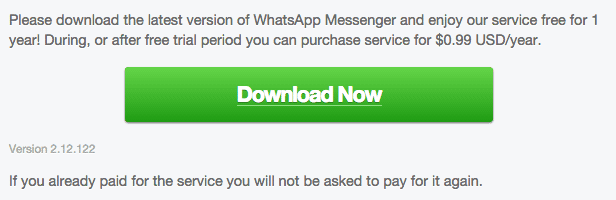 WhatsApp Android 2.12.122