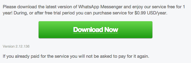 WhatsApp Android 2.12.136