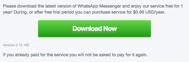 WhatsApp Android 2.12.165