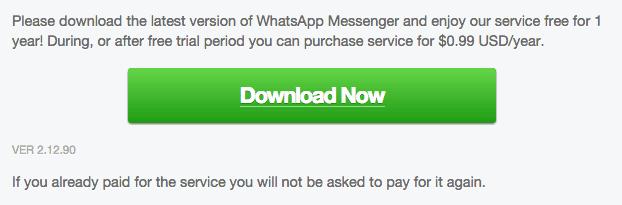 WhatsApp Nokia 2.12.90