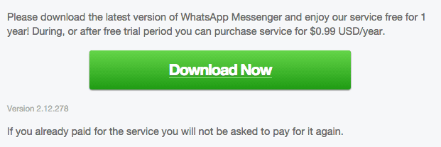 WhatsApp Android 2.12.278