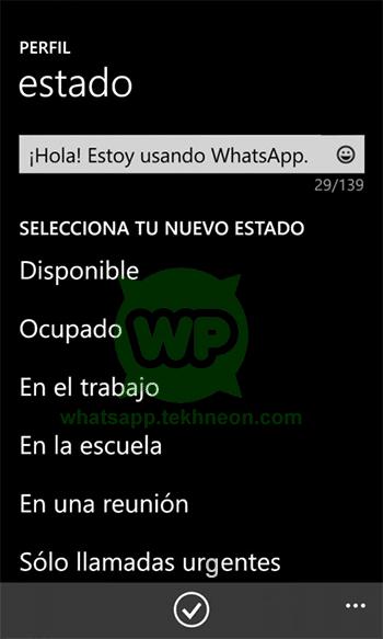 WhatsApp for Windows Phone Beta