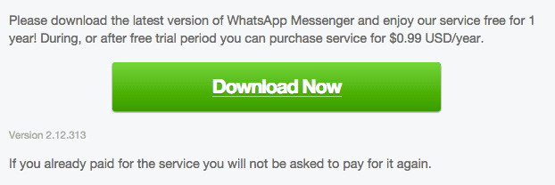 WhatsApp for Android 2.12.313