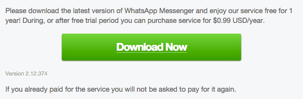 WhatsApp for Android 2.12.374