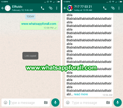 WhatsApp for Android new features