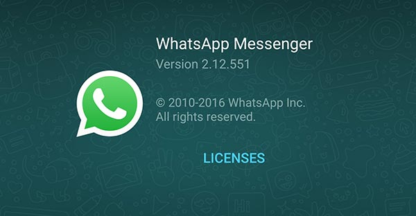 Download WhatsApp for Android 2.12.551