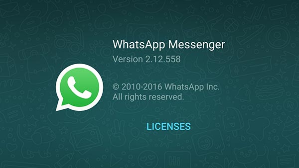 WhatsApp for Android 2.12.558