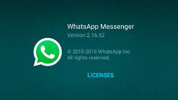download the Beta version of WhatsApp for Android