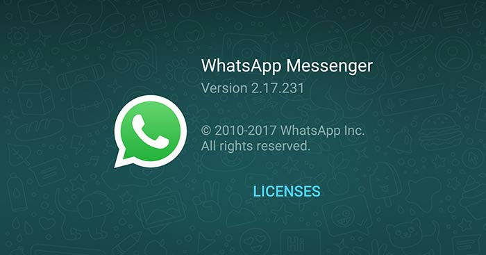 WhatsApp for Android 2.17.231