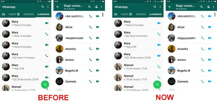 WhatsApp for Android adds color to its user interface