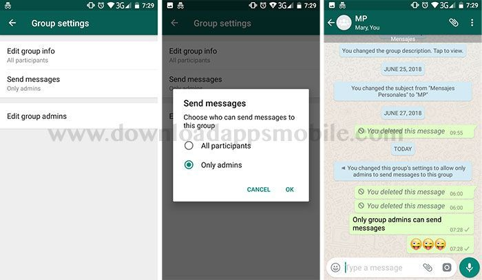 Send Messages in WhatsApp