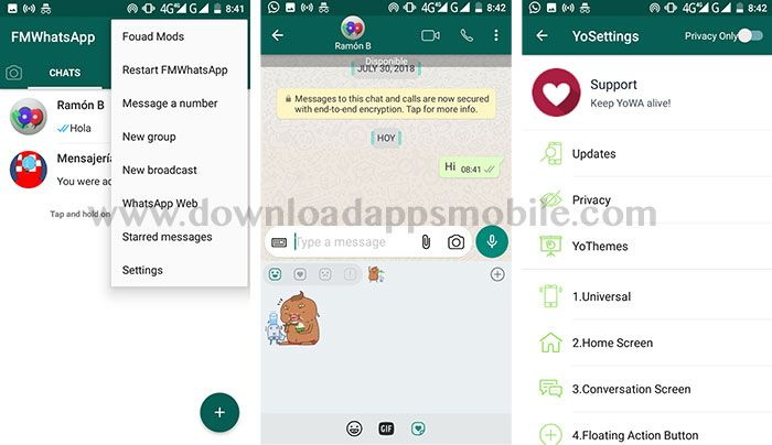 Download FMWhatsApp 7.60