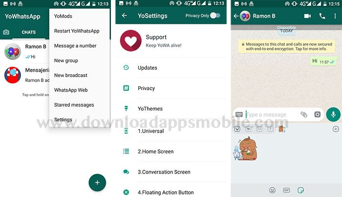 YoWhatsApp version 7.60