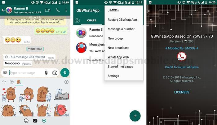 WhatsApp Plus Jimods 7.70