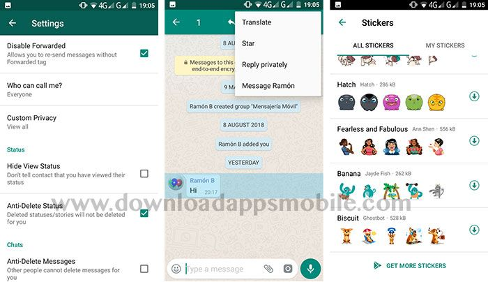 image new features in YoWhatsApp
