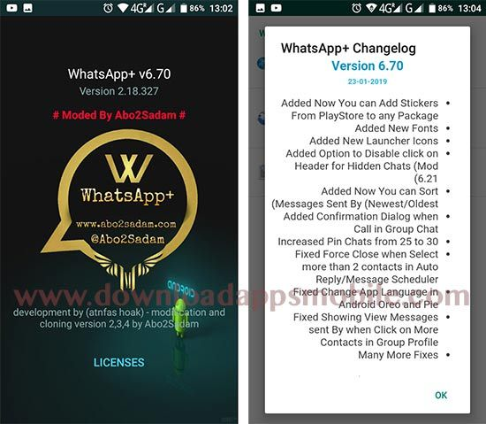 WhatsApp Plus 6.70