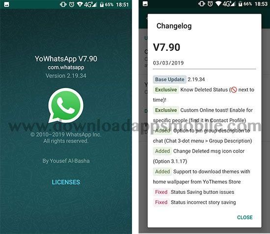 Download YoWhatsApp 7.90