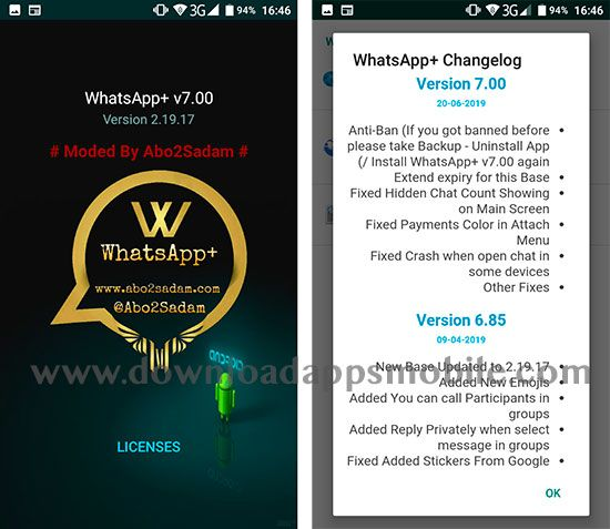 WhatsApp Plus 7.00