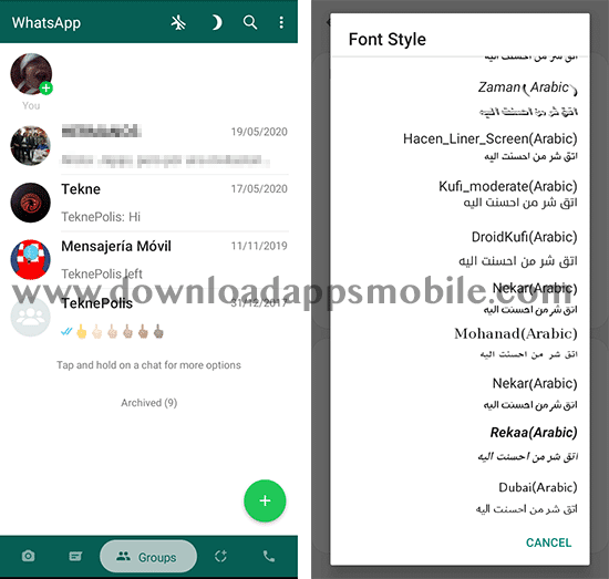 Fouad WhatsApp 8.35 - What's New