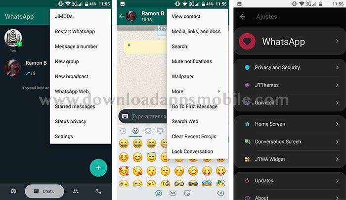 WhatsApp PLUS JiMODs