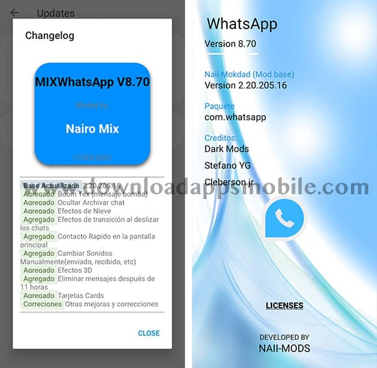 WhatsApp Mix 8.70 image