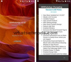 image GBWhatsApp Transparent Prime 6.68