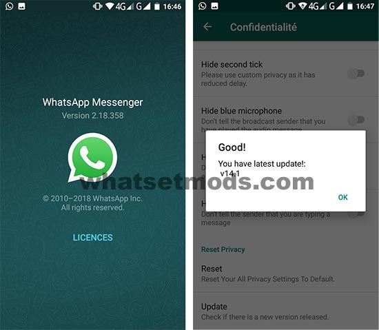 image WhatsApp B58 Mini 14.1