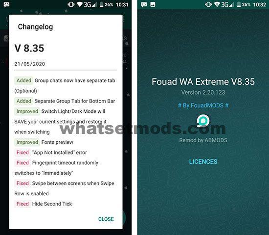 Fouad WhatsApp Extreme 8.35