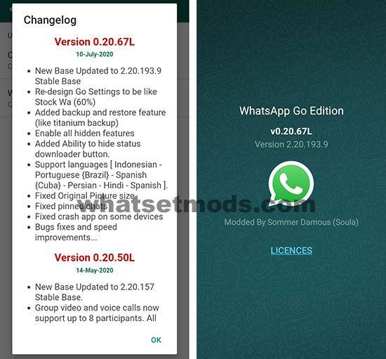WhatsApp GO 0.20.67L