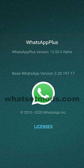 image avec les dernières nouvelles de WhatsApp Plus 12.00.0
