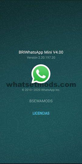 image de la dernière version de BriWhatsApp 4.00