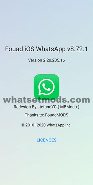 image avec les dernières nouvelles de MBWhatsApp 8.72.1