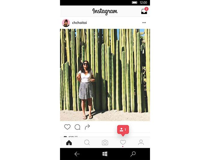 Instagram para Windows 10 Mobile