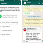 Descarga WhatsApp para Android con invitaciones grupos con enlaces