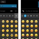 WhatsApp para Windows 10 Mobile Beta cambia los emojis