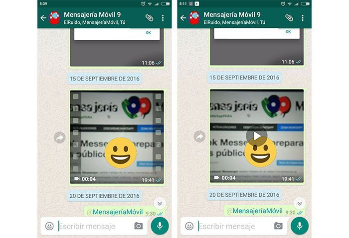 WhatsApp para Android versión Beta