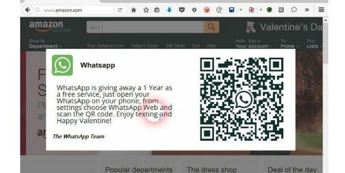 WhatsApp Web y los códigos de barras