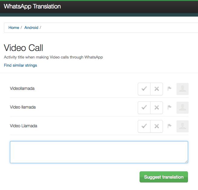 WhatsApp sigue acercando las videollamadas